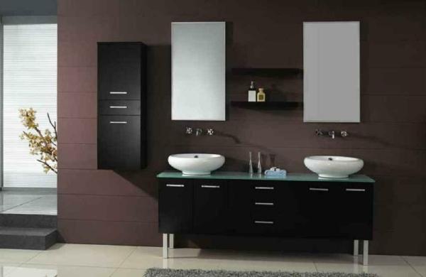 badezimmer-mit-braunen-wänden