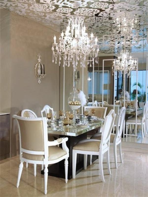 barock-esszimmer-einrichten-weiße-farbe
