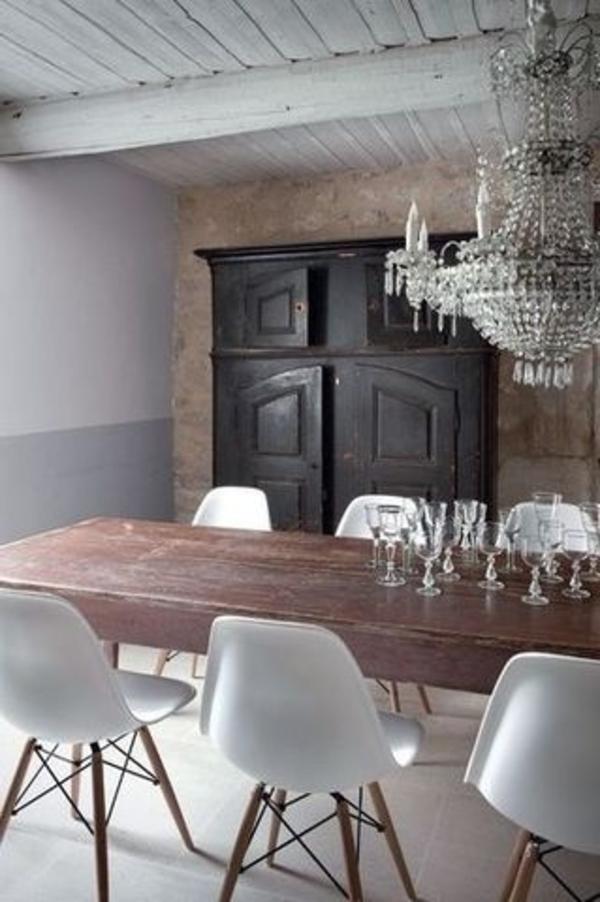 barock-esszimmer-einrichten-weiße-stühle