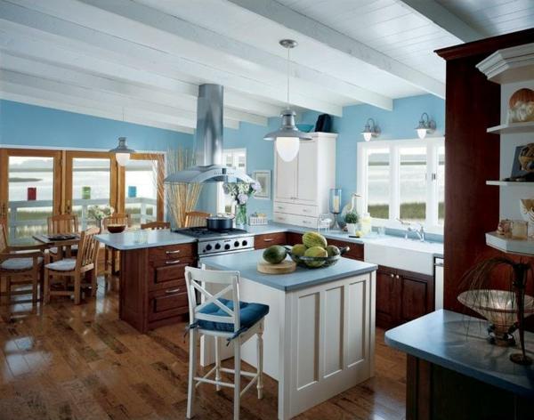 160 neue Küchenideen: Blaue und grüne Farbe - Archzine.net