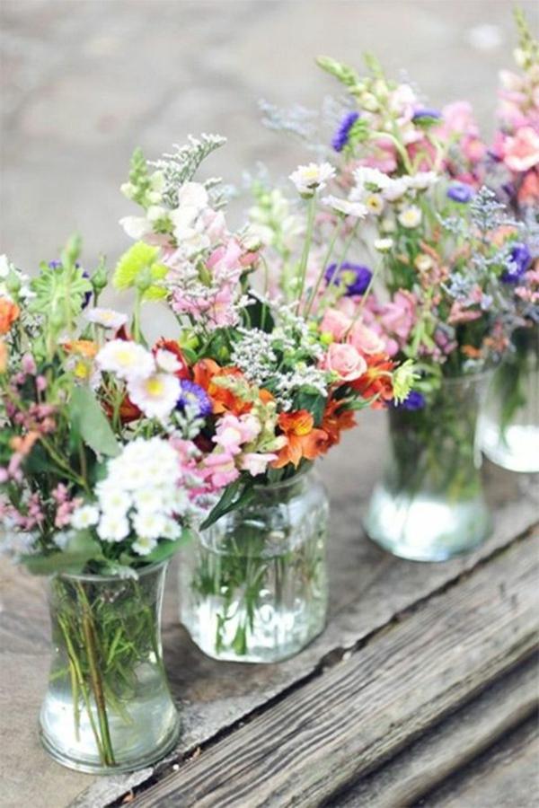 Atemberaubende Blumendeko Fur Hochzeit Archzine Net