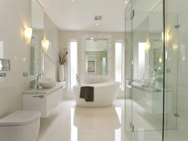 Modernes badezimmer ideen zur inspiration 140 fotos for Luxus badezimmer ideen