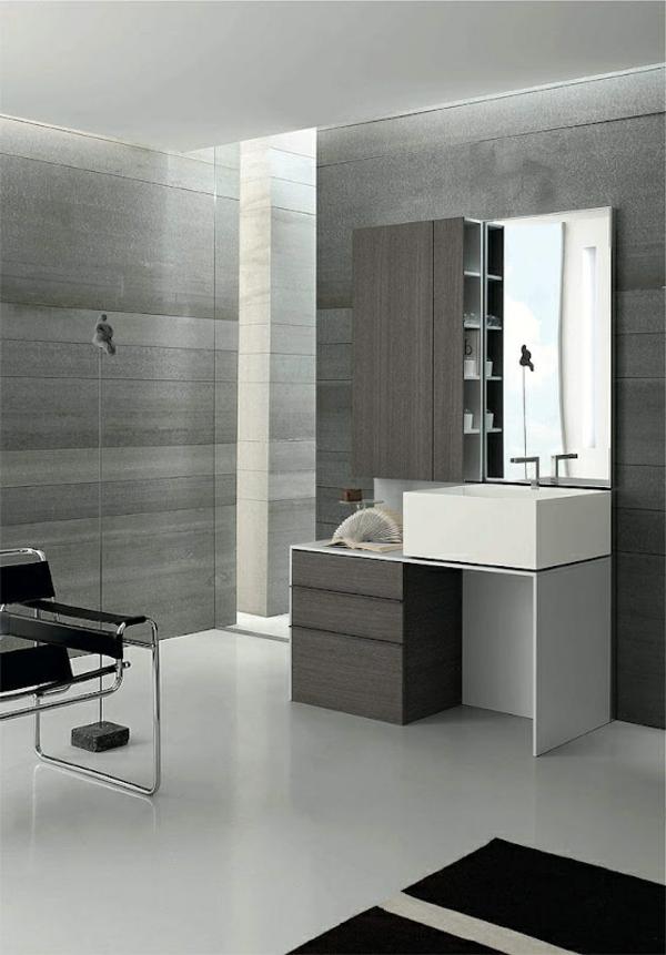 coole-Ideen-für-eine-moderne--Gestaltung--im-Badezimmer-in-Grau