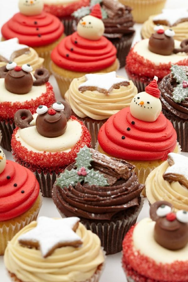 coole-schmackhafte-Cupcakes-für-Weihnachten-backen