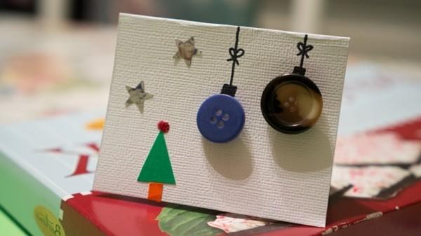 coole-weihnachtskarten-selber-basteln-originelle-gestaltung