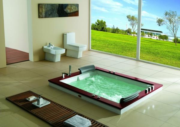 cooles-Design-Whirlpool-Luxus-Design-für-das-Badezimmer