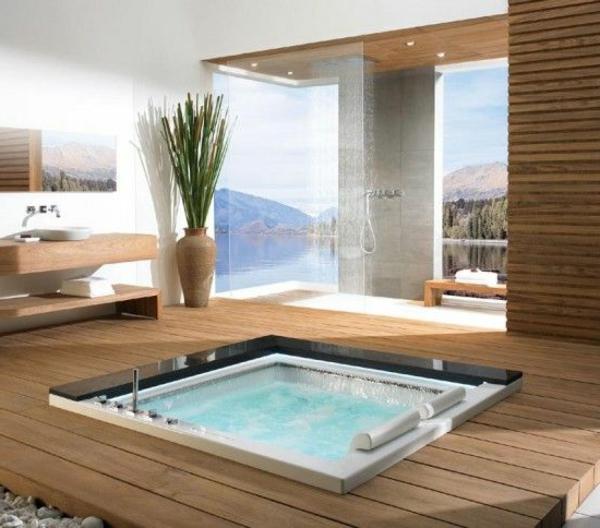 cooles-Design-moderne-Whirlwanne-für-Innen