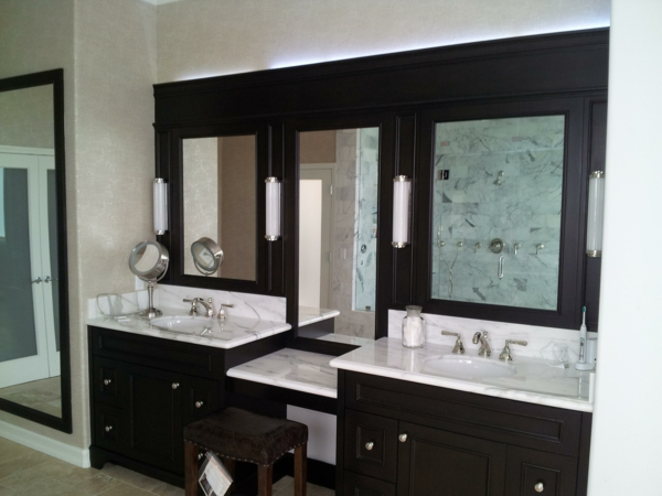 long mirrored bathroom cabinets 120 coole modelle vom designer badspiegel 19309