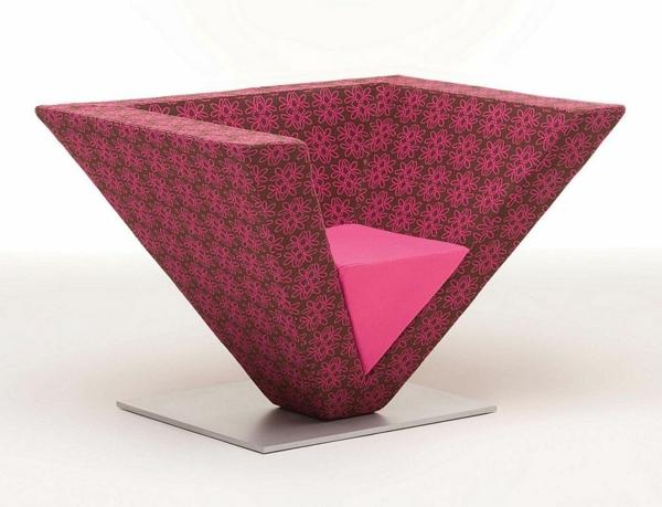 designer-rosa-Sessel-in-fantastischer-Farbe