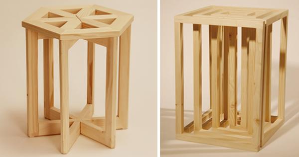 hocker aus holz 50 sch ne modelle. Black Bedroom Furniture Sets. Home Design Ideas