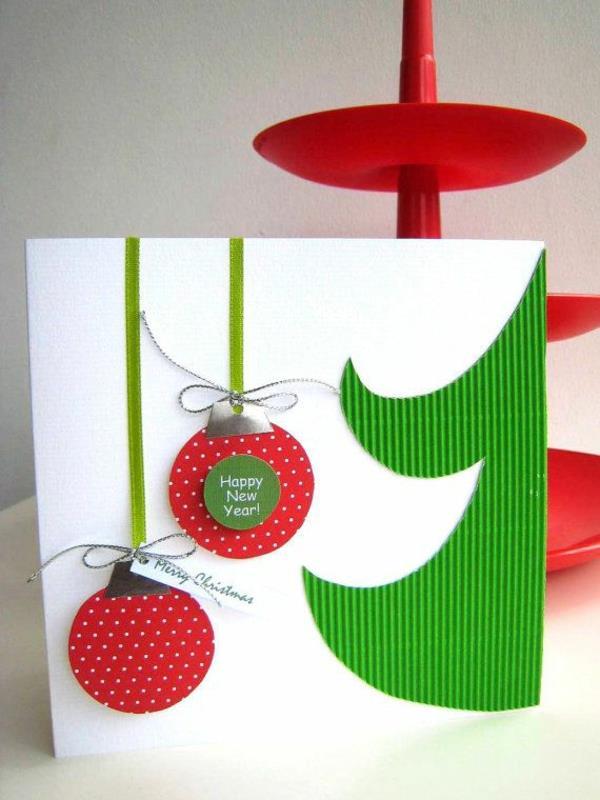 effektvolle-schöne-Weihnachtskarten-selber-basteln