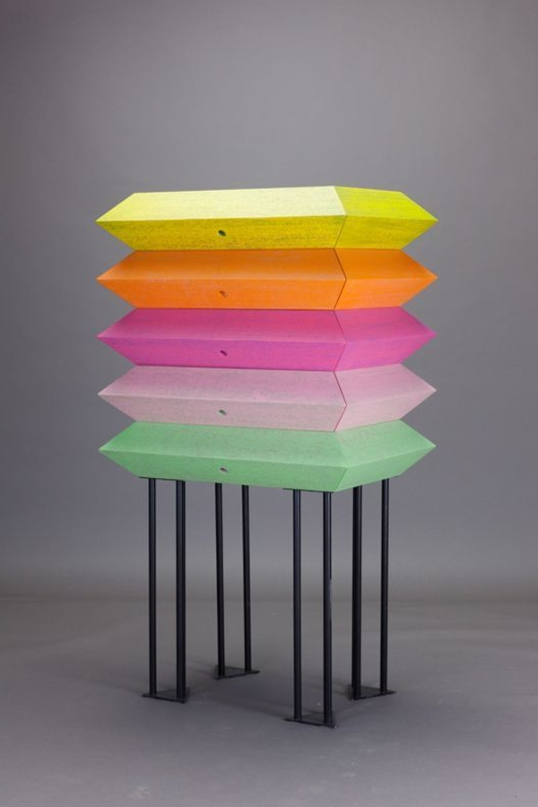 effektvolle-tolle-Dekoration-mit-frischen-neon-Farben