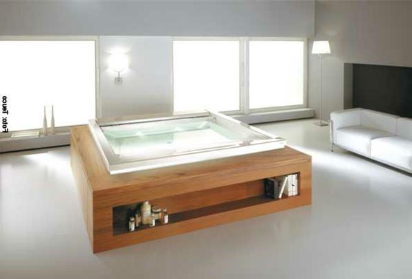 ein-modernes-Badezimmer-mit-einer-Whirlwanne