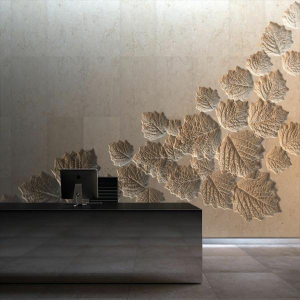 eine-wunderbare-Wandgestaltung- modernes-Interior-Design-