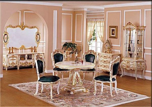 76 barock esszimmer einrichten 60 super vorschlge bilder esszimmer wnde wohn mit weinrote. Black Bedroom Furniture Sets. Home Design Ideas