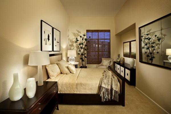 elegante-und-stilvolle-Wandgestaltung-mit-neutralen-Farben-Sclafzimmer