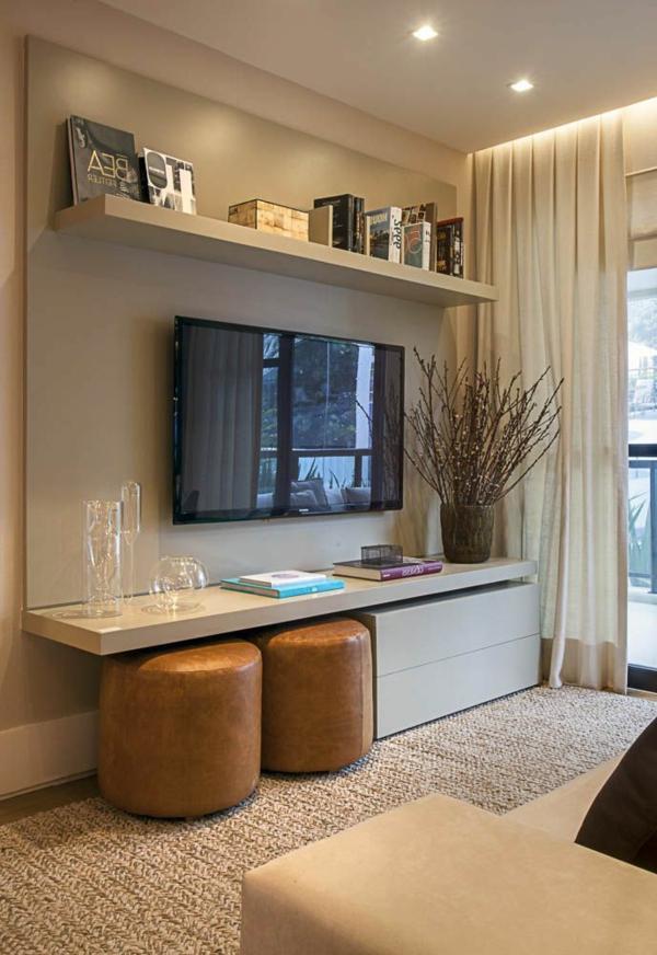 Elegantes Wohnzimmer Mit Teppcih In Beige Klassisches Design