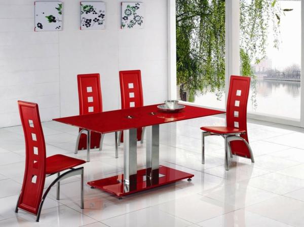 Rote Moebel Im Esszimmer : Esszimmerst?hle design moderne vorschl?ge archzine