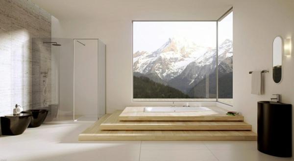 Badezimmereinrichtung ideen  Modernes Badezimmer - Ideen zur Inspiration - 140 Fotos ...