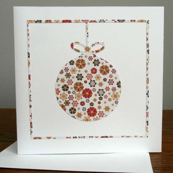 Schone Weihnachtskarten Selber Basteln Mehr Als 100 Ideen