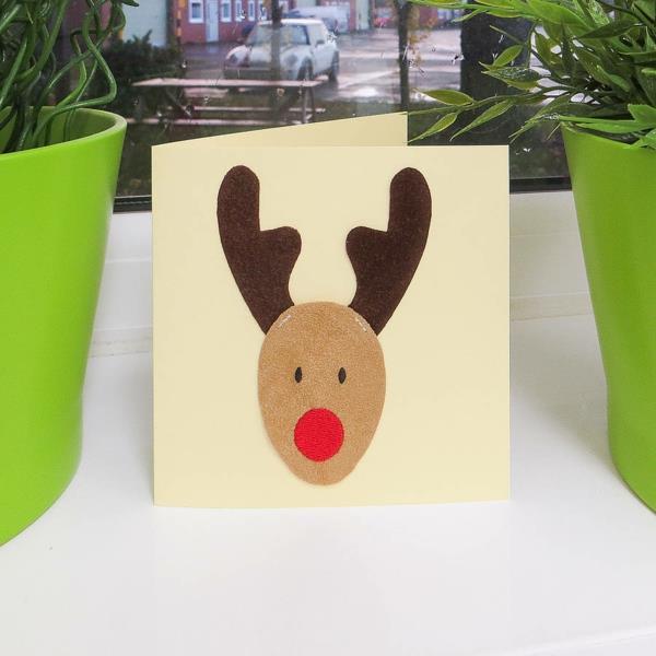 1001 ideen wie sie sch ne weihnachtskarten selber basteln. Black Bedroom Furniture Sets. Home Design Ideas