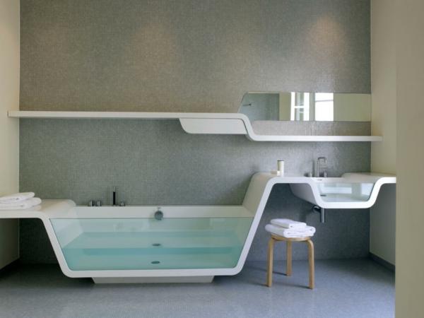 Modernes Badezimmer - Ideen zur Inspiration - 140 Fotos! - Archzine.net