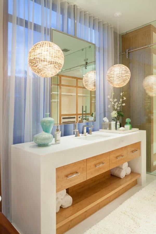 Modernes badezimmer ideen zur inspiration 140 fotos for Tolle lampen