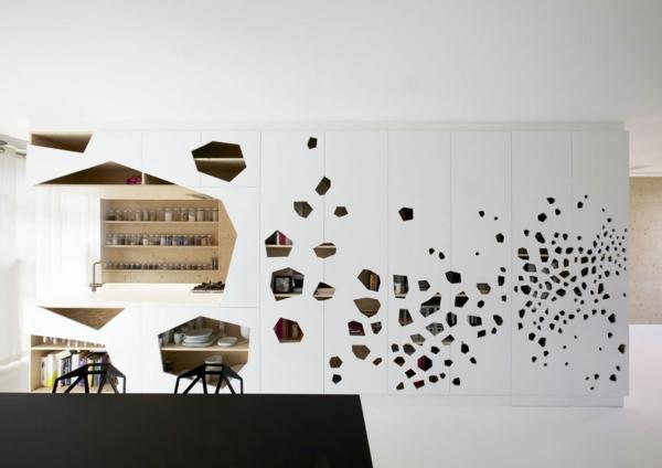 faszinierendes-Design-moderne-und-coole- Wandgestaltung-Ideen