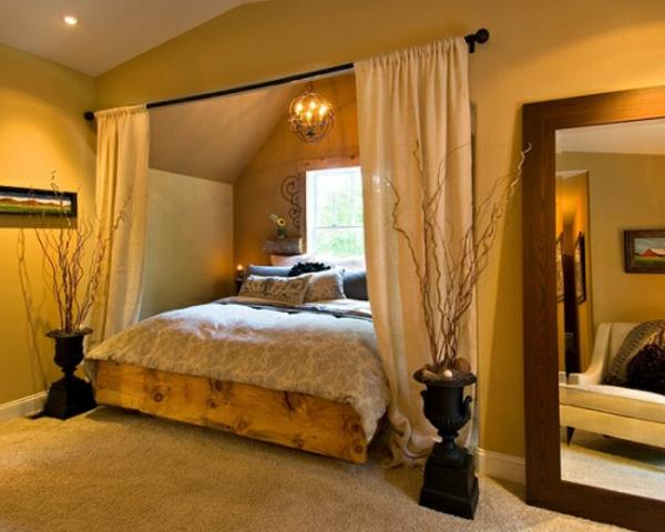 feng-shui-schlafzimmer-einrichten-bett-gardinen