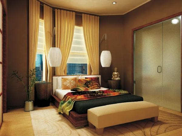 feng-shui-schlafzimmer-einrichten-gemütlich-wirken