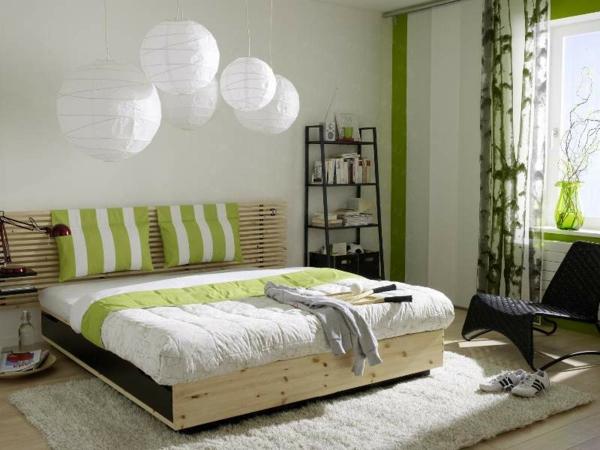 feng-shui-schlafzimmer-einrichten-hängende-weiße-lampen