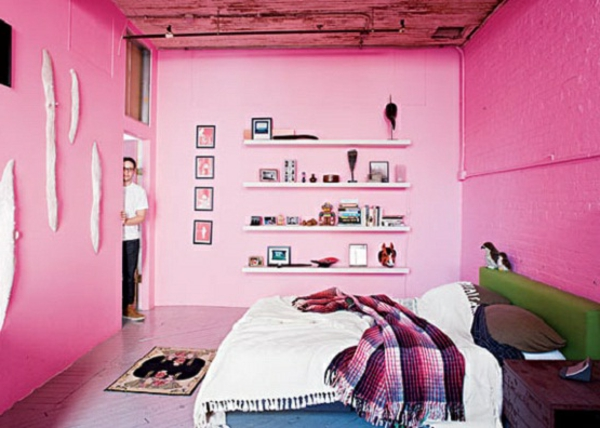 feng-shui-schlafzimmer-einrichten-rosige-wände