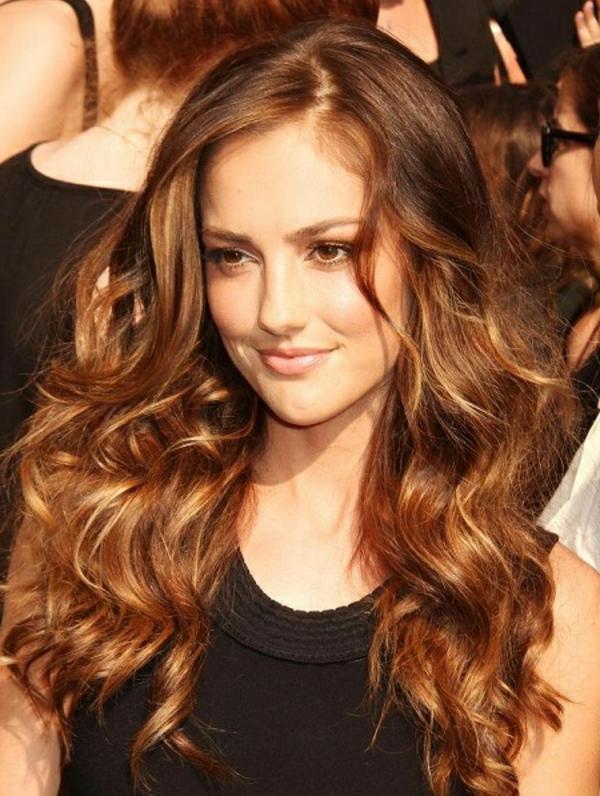 Braun Gefarbte Haare Orangestich Mittellange Haare