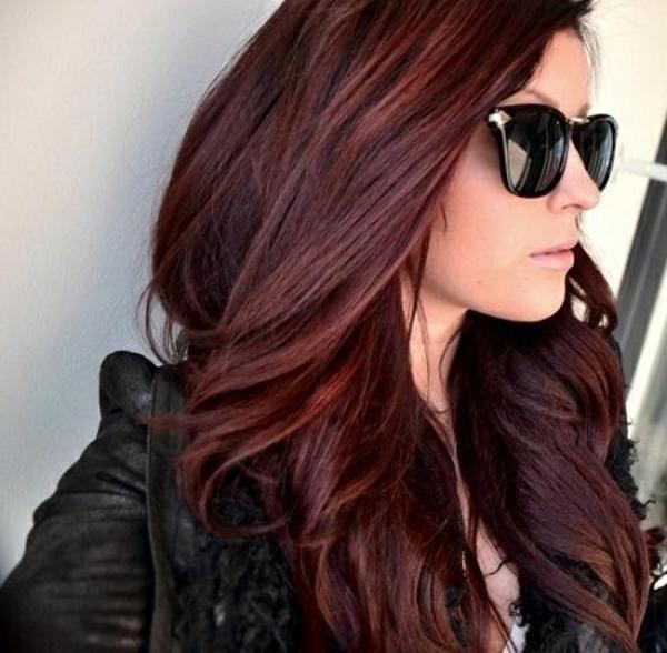 100 coole bilder von frisuren für braune haare! - archzine, Hause ideen