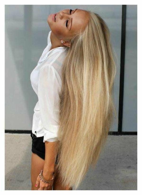 coole interessante frisuren für lange haare!