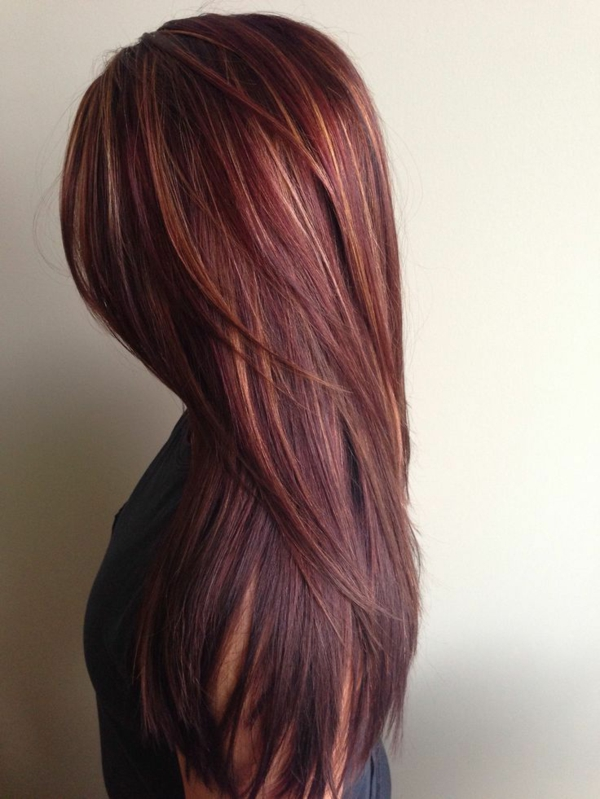 frisuren-für-lange-haare-rote-nuancen