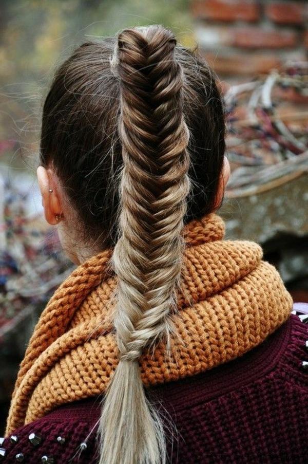 frisuren-für-lange-haare-zopf