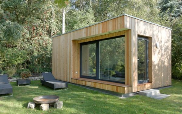 Moderne gartenh user 50 vorschl ge f r sie - Gartenhaus selber bauen plan ...