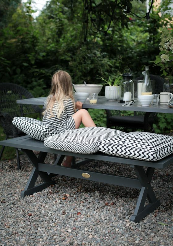 gartenbank mit tisch 100 super bilder. Black Bedroom Furniture Sets. Home Design Ideas