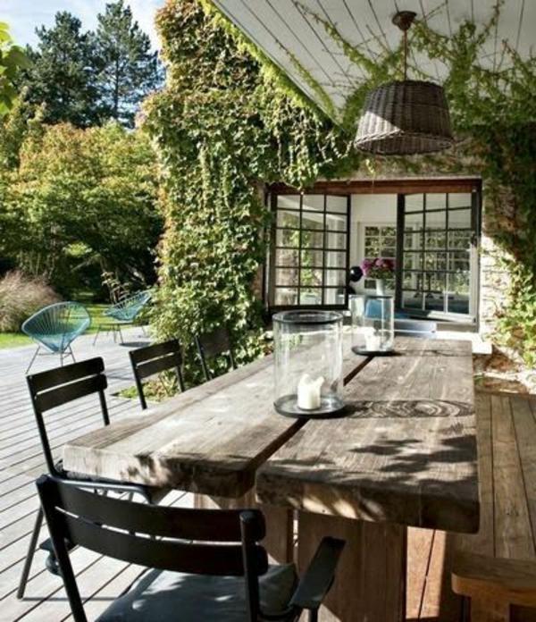 rustikale gartenbank mit tisch 133631 eine interessante idee f r die gestaltung. Black Bedroom Furniture Sets. Home Design Ideas