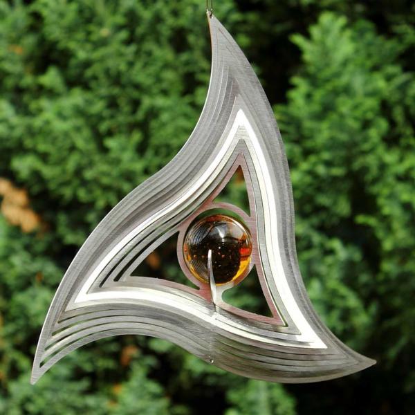 Gartendeko aus edelstahl 41 super fotos - Designer dekoartikel ...