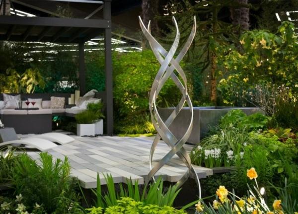 Gartendeko aus edelstahl 41 super fotos for Gartendeko idee