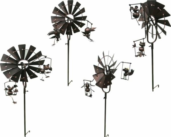 Gartendeko aus Metall: 25 auffällige Bilder! - Archzine.net