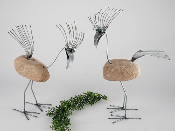 Gartendeko Aus Stein Und Metall ~ Sammlung von Haus Design und ...