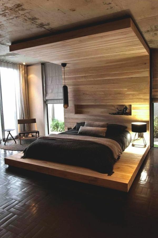 schlafzimmer modern gestalten 48 bilder. Black Bedroom Furniture Sets. Home Design Ideas