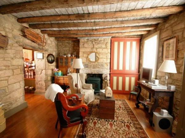wohnzimmer rustikal gestalten: teil 1 - archzine.net - Wohnzimmer Gestalten Orange