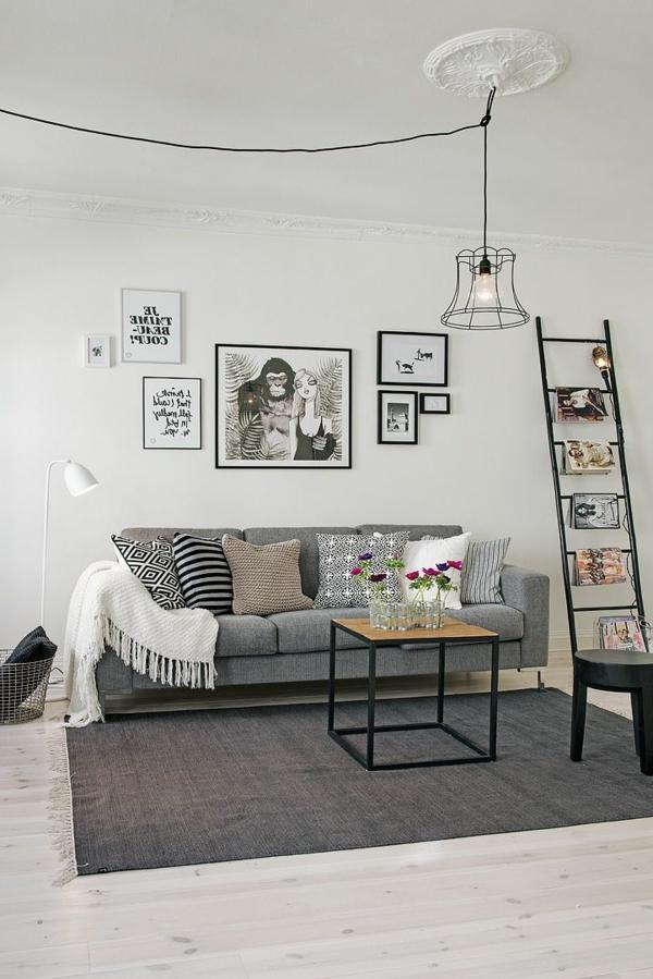 gestaltungsmöglichkeiten-für-wohnzimmer-bilder-an-der-wand - einfach cool-aussehen