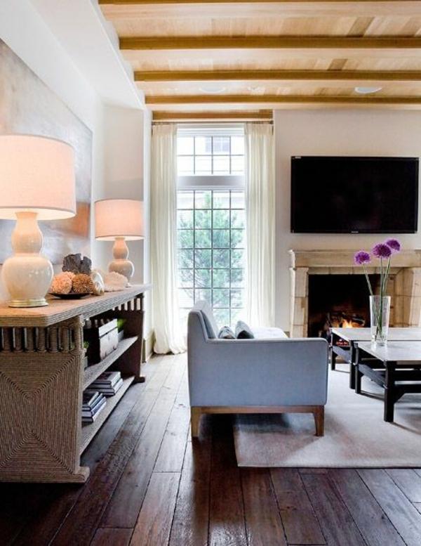 gestaltungsmöglichkeiten-für-wohnzimmer-großer-fernseher