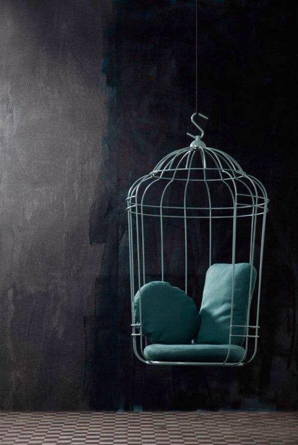 gestaltungsmöglichkeiten-für-wohnzimmer-hängender-stuhl