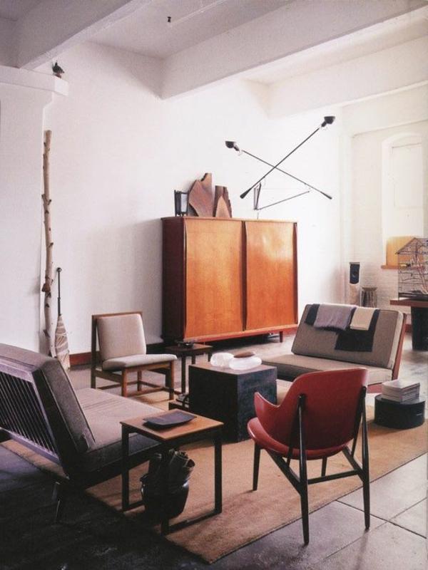 gestaltungsmöglichkeiten-für-wohnzimmer-hölzerner-schrank